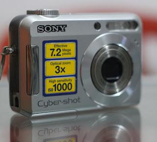 Kamera Digital sony DSC-S650