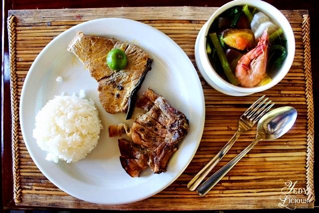 Set meal at Badjao Seafood Restaurant at Puerto Princesa Palawan, Best Restaurants in Puerto Princesa Palawan YedyLicious Manila Food Blog