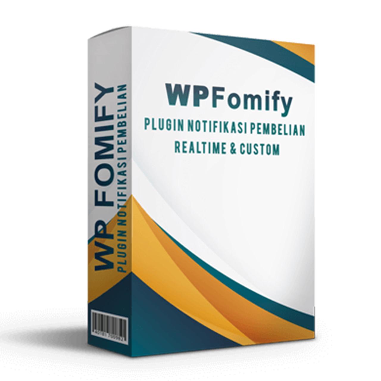 WP FOMIFY Plugin Notifikasi Pembelian