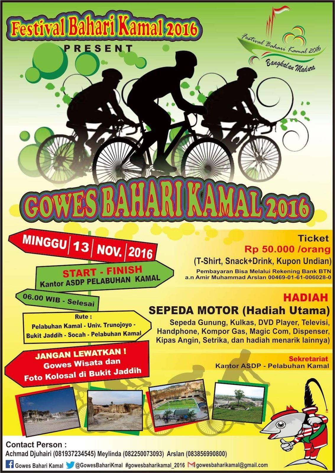 Gowes Bahari Kamal 2016