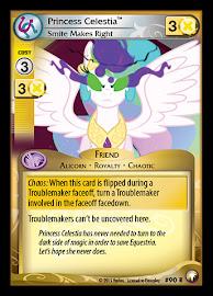 My Little Pony Princess Celestia, Smite Makes Right Equestrian Odysseys CCG Card