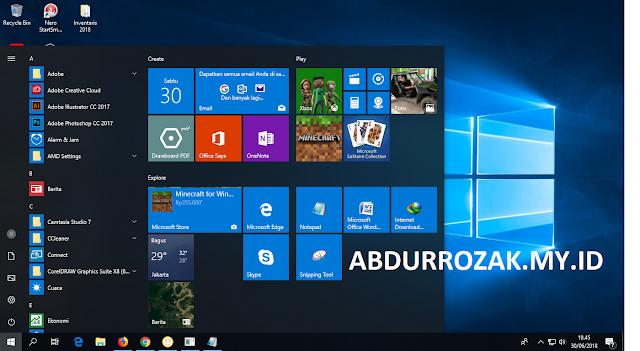 Spesifikasi Minimum Install Windows 10 x86 dan x64 Lengkap