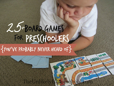 25+ Board Games for Preschoolers {You've Probably Never Heard Of}