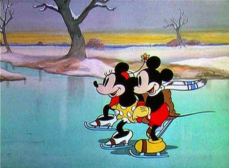 On Ice, released by Disney in 1935