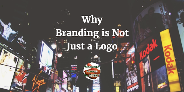 "Header image of the article ""Branding is Not Just a Logo"": a list of reasons why branding is not simply a logo but far more important aspects of your business."