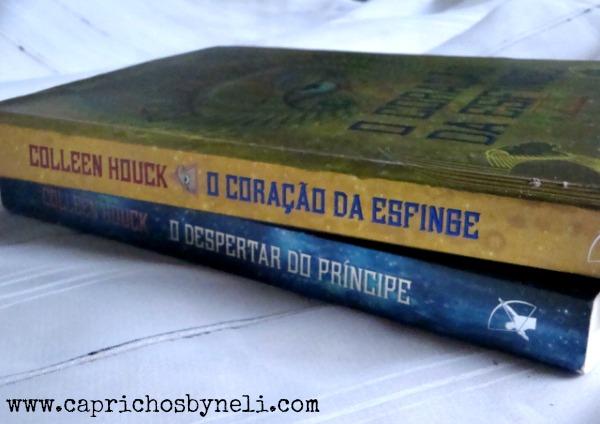 O coração da esfinge, Colleen Houck, Editora Arqueiro