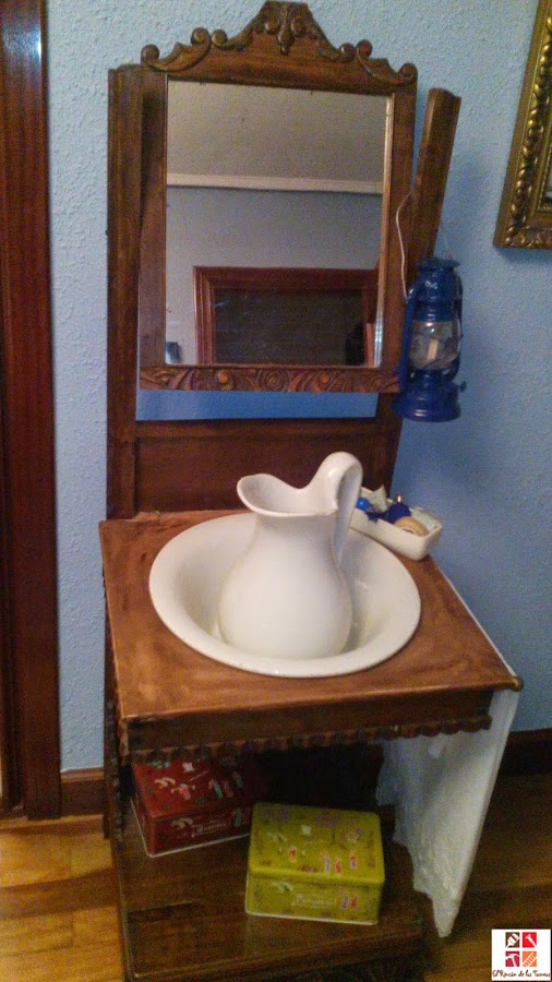 lavabo antiguo restaurado