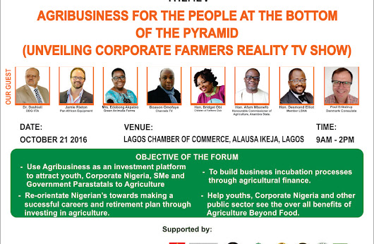 Agribuiness Stakeholders Forum