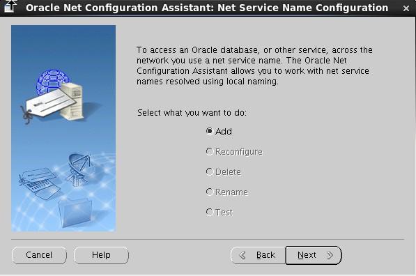 Oracle Database Administration Add Database Service Using