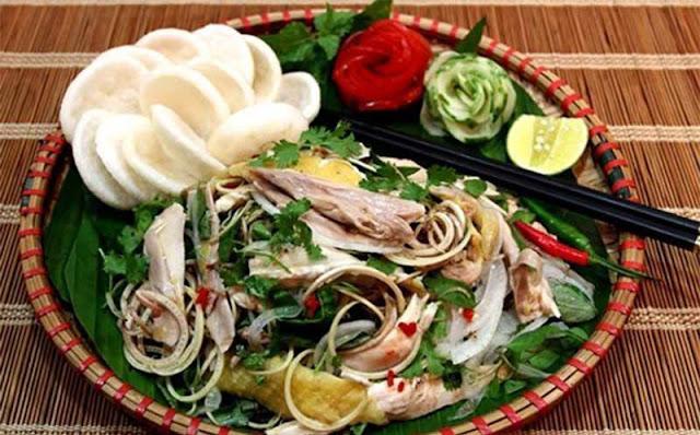 Những món ăn ở Hồ Thủy Quái
