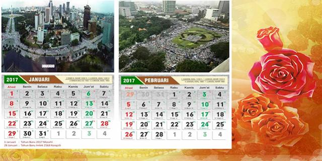 Kalender Aksi Bela Islam 3