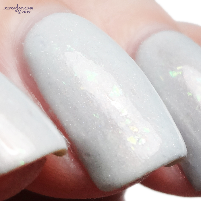 xoxoJen's swatch of Lilypad Lacquer Aquay