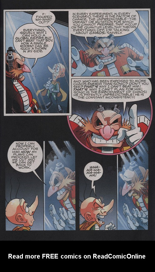Read online Sonic The Hedgehog comic -  Issue #210 - 11