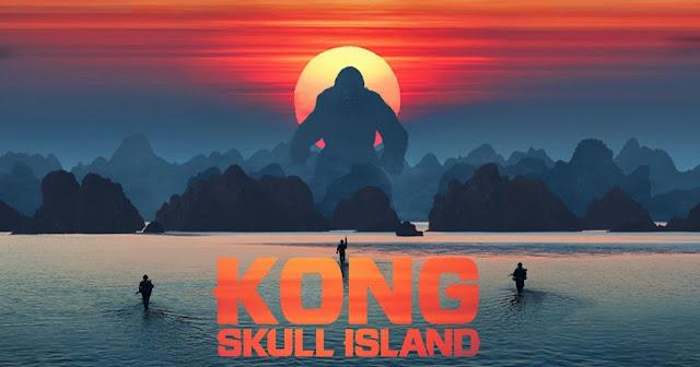Posterul filmului Kong: Insula Craniilor
