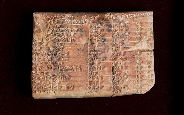 Mathematical mystery of ancient Babylonian clay tablet solved