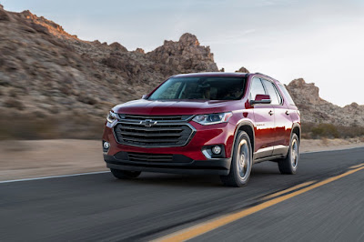Chevy adds turbocharged 2018 Chevrolet Traverse RS