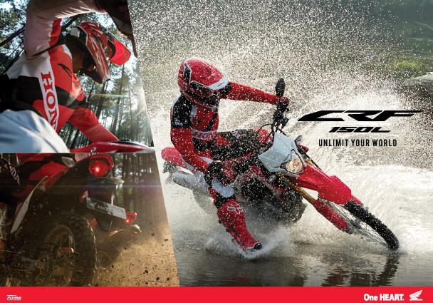 Akhirnya! AHM Rilis All New Honda CRF150L  Honda Naga Mas Motor Klaten