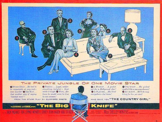The Big Knife 1955