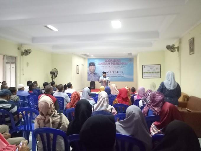 Permohonan Warga Priuk Jaya Diakomodir Ketua Komisi VIII DPR RI