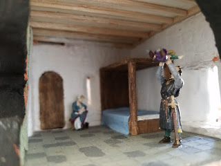 Bunratty-Castle-Diorama-Bedroom