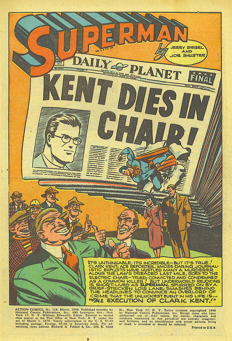 Read online Action Comics (1938) comic -  Issue #118 - 2