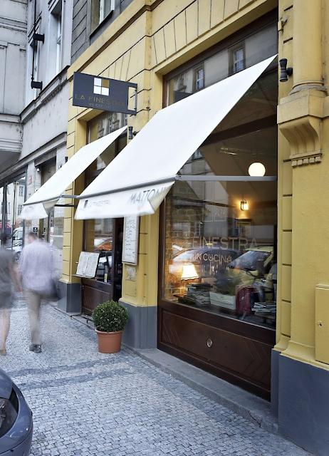 Scrumpdillyicious La Finestra In Cucina Fine Italian Cuisine In Prague