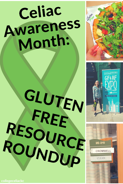 Celiac Awareness Month: Gluten Free Resources Roundup