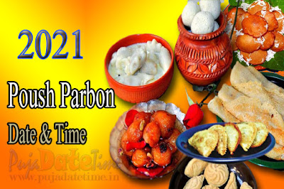 2021 Poush Parbon Puja Date Time