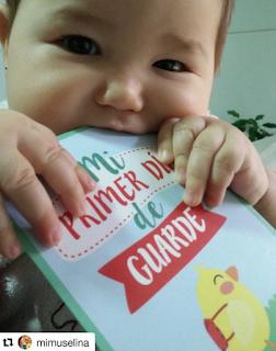 qué llevar el primer día de guarde imprescindibles blog mimuselina baby moments cards foto guardería