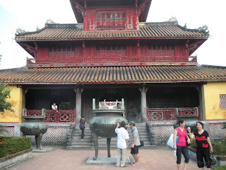 Hien Lam Pavilion. Citadel of Hue (Vietnam)
