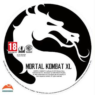 Mortal Kombat XL Disc Label