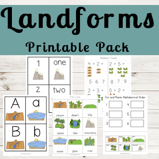 landforms-preschool-science-kindergarten-first-grade-2nd-grade-3rd-grade