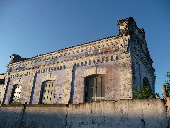 Конотоп. Здания железнодорожных мастерских и цехов