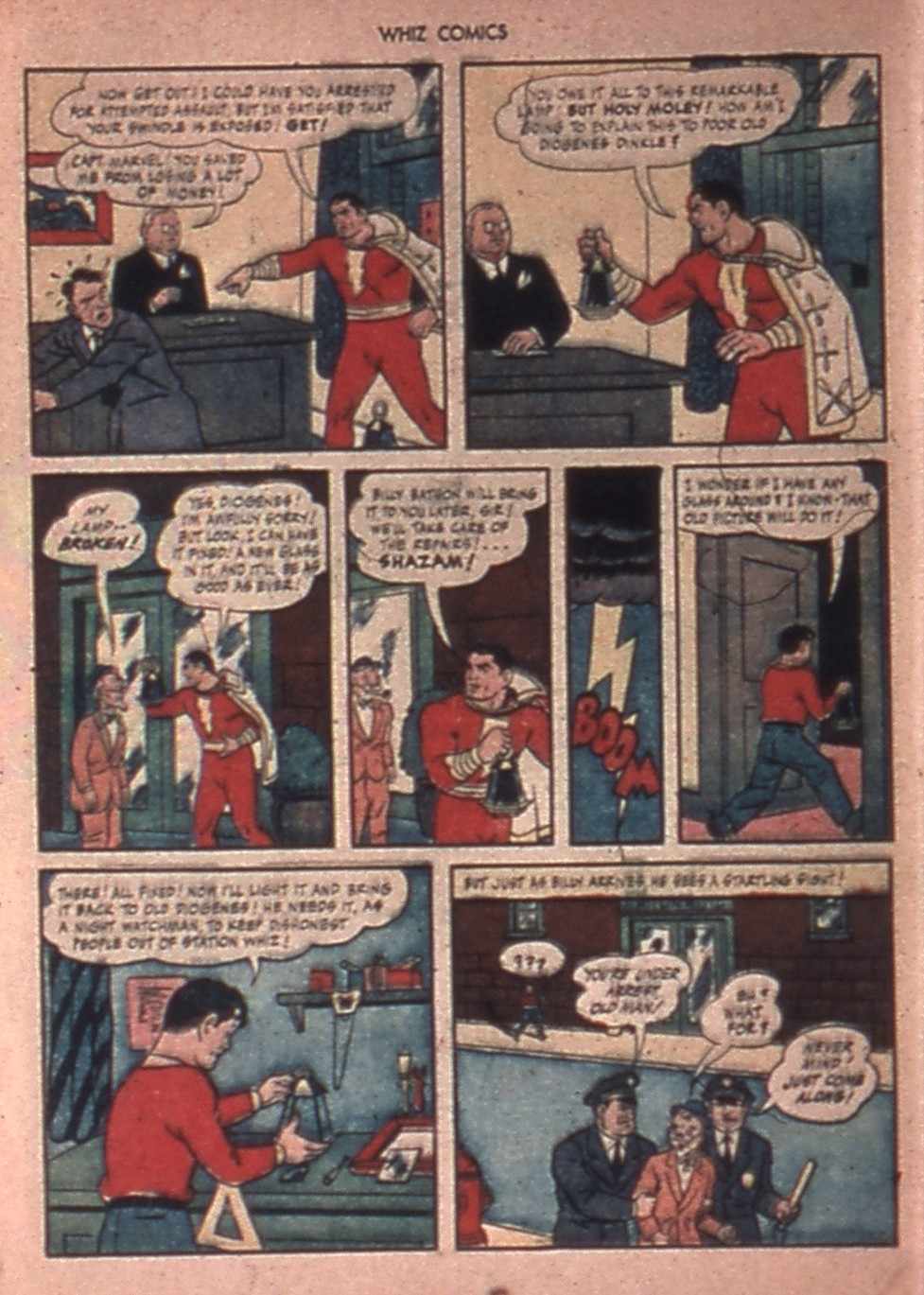 WHIZ Comics issue 65 - Page 8