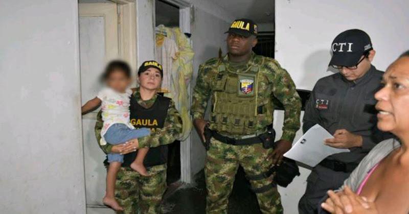 Rescatada en Colombia una niña de 4 años que había sido secuestrada en Venezuela