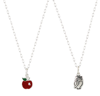 Tiny Apple Charm