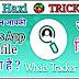कौन-कौन आपकी Whats App DP देखता है - Whats Tracker Kya Hai