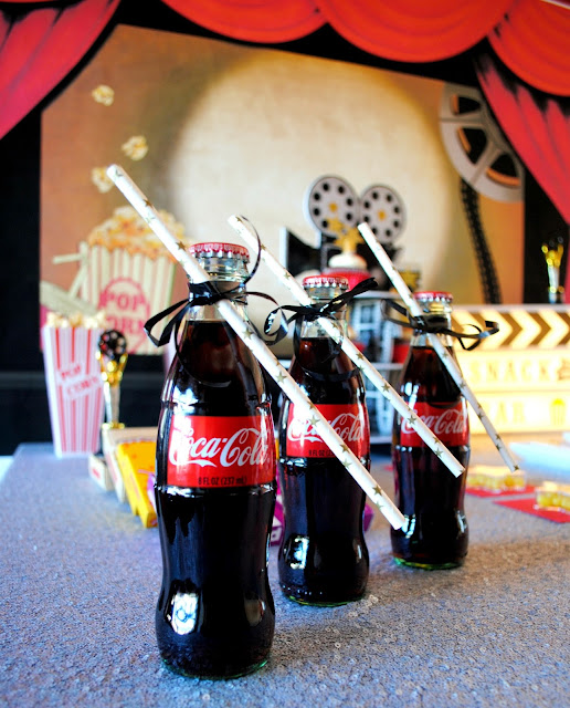 It wouldn't be a snack bar without cold refreshing Coke. To see what else you should serve go to www.fizzyparty.com