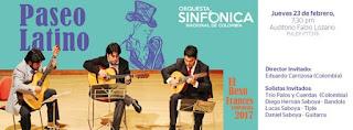 Concierto de la Orquesta Sinfónica Nacional de Colombia