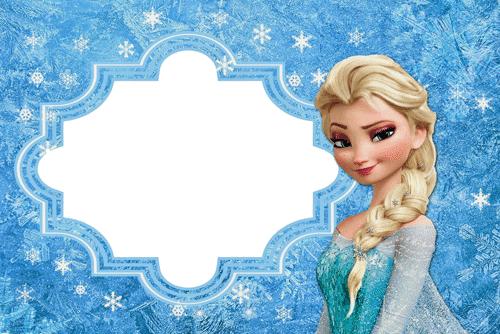 PARA IMPRIMIR: Kit de Frozen para imprimir