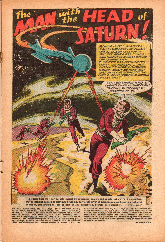 Strange Adventures (1950) issue 156 - Page 3