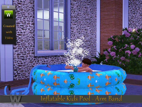 Totally sims 3 updates inflatable kids pool arm band for Pool design sims 3