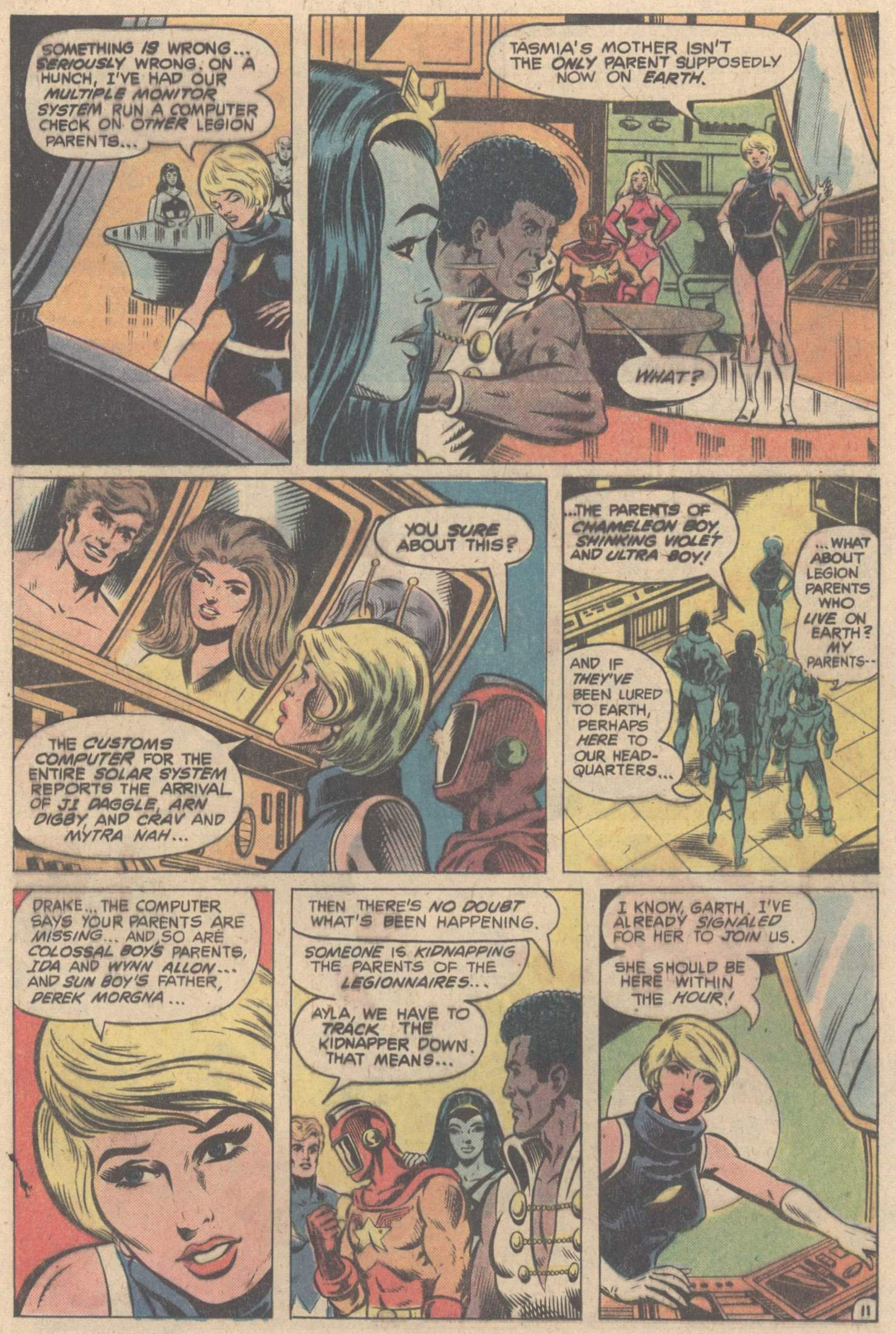 Legion of Super-Heroes (1980) 263 Page 20