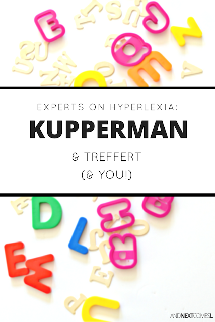 What is hyperlexia and who are the experts?