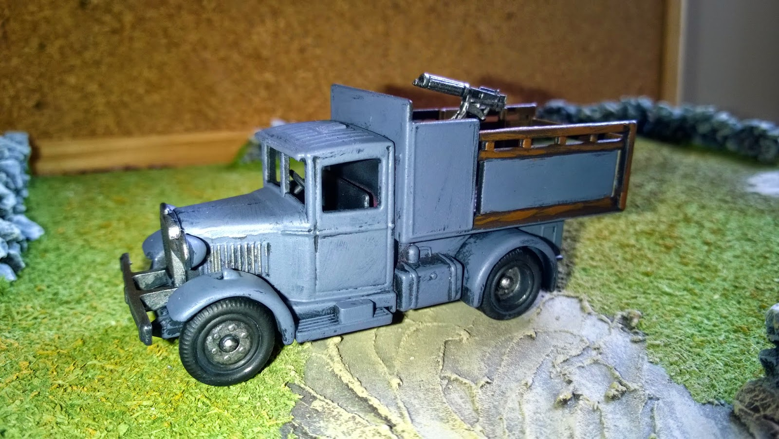 very british civil war vbcw 28mm armoured van vehicle