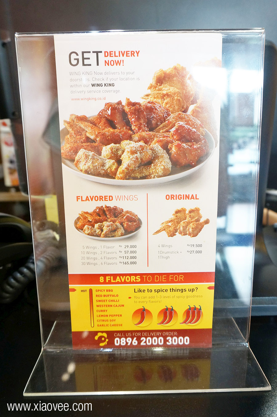 Wing King Surabaya, Wing King restaurant review, best wing chicken in town