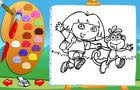 Color with Dora