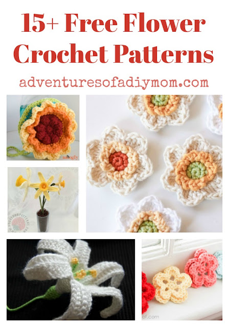 15+ free flower crochet patterns