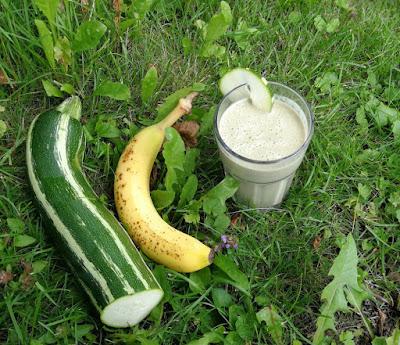 Zucchini-Bananen-Smoothie