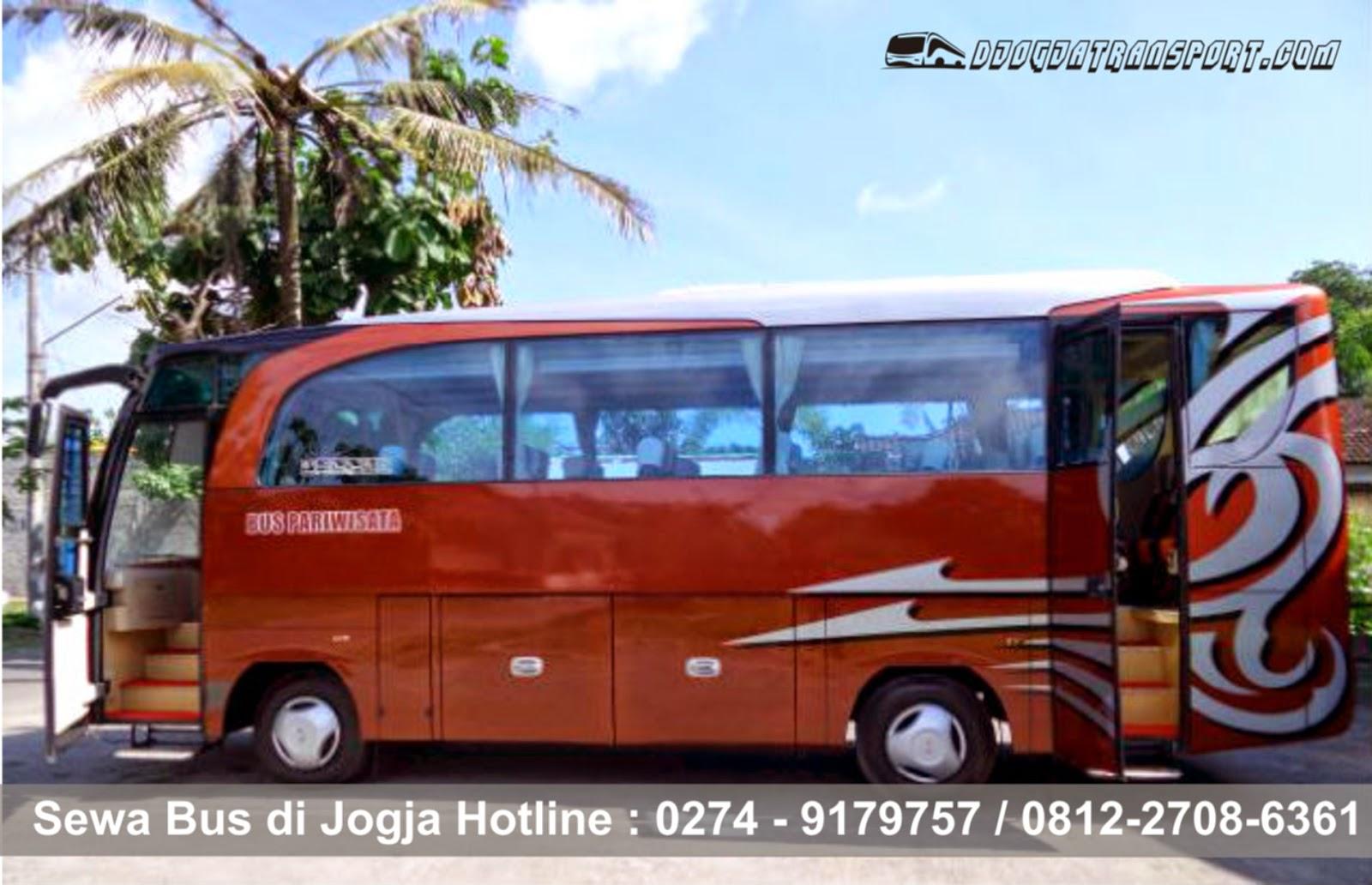 sewa medium bus wisata di Jogja